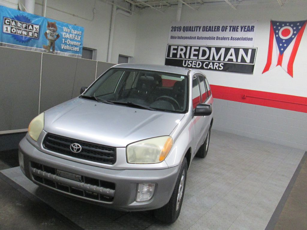 2002 TOYOTA RAV4  for sale at Friedman Used Cars
