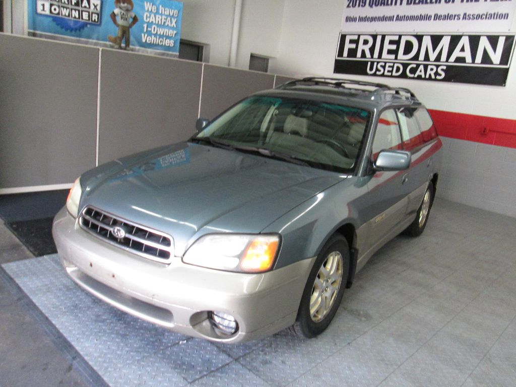 2002 SUBARU LEGACY OUTBACK LIMITED for sale at Friedman Used Cars