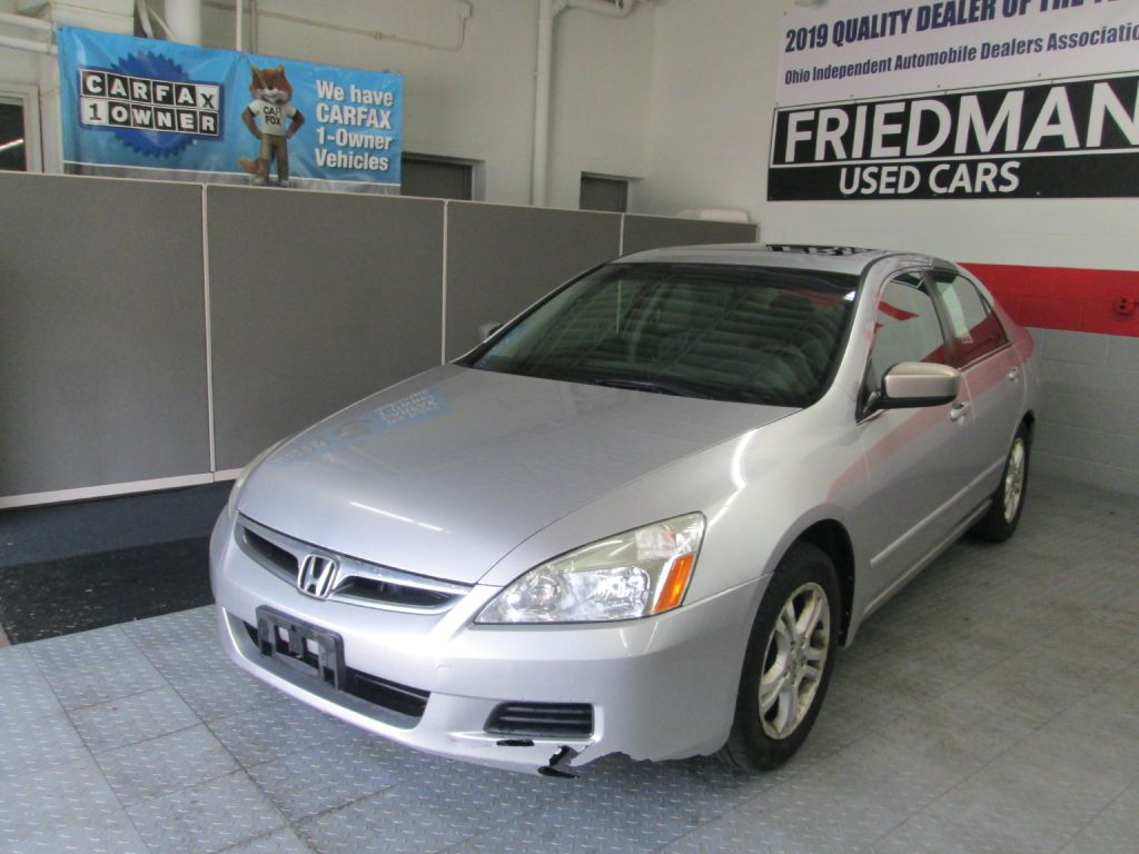 2006 HONDA ACCORD EX for sale at Friedman Used Cars
