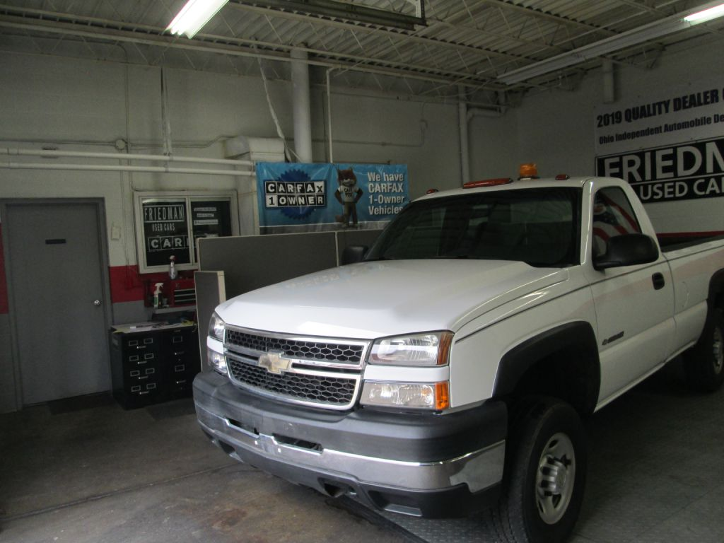 2007 CHEVROLET SILVERADO 2500 HEAVY DUTY for sale at Friedman Used Cars