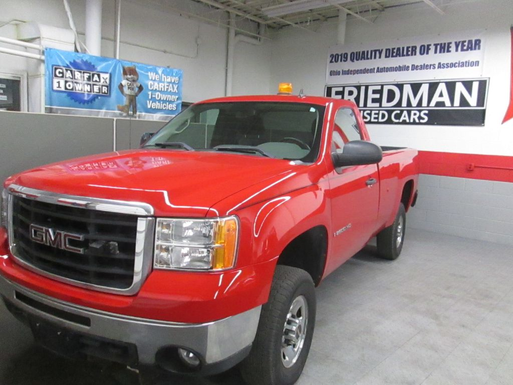 2009 GMC SIERRA 2500 HEAVY DUTY for sale at Friedman Used Cars