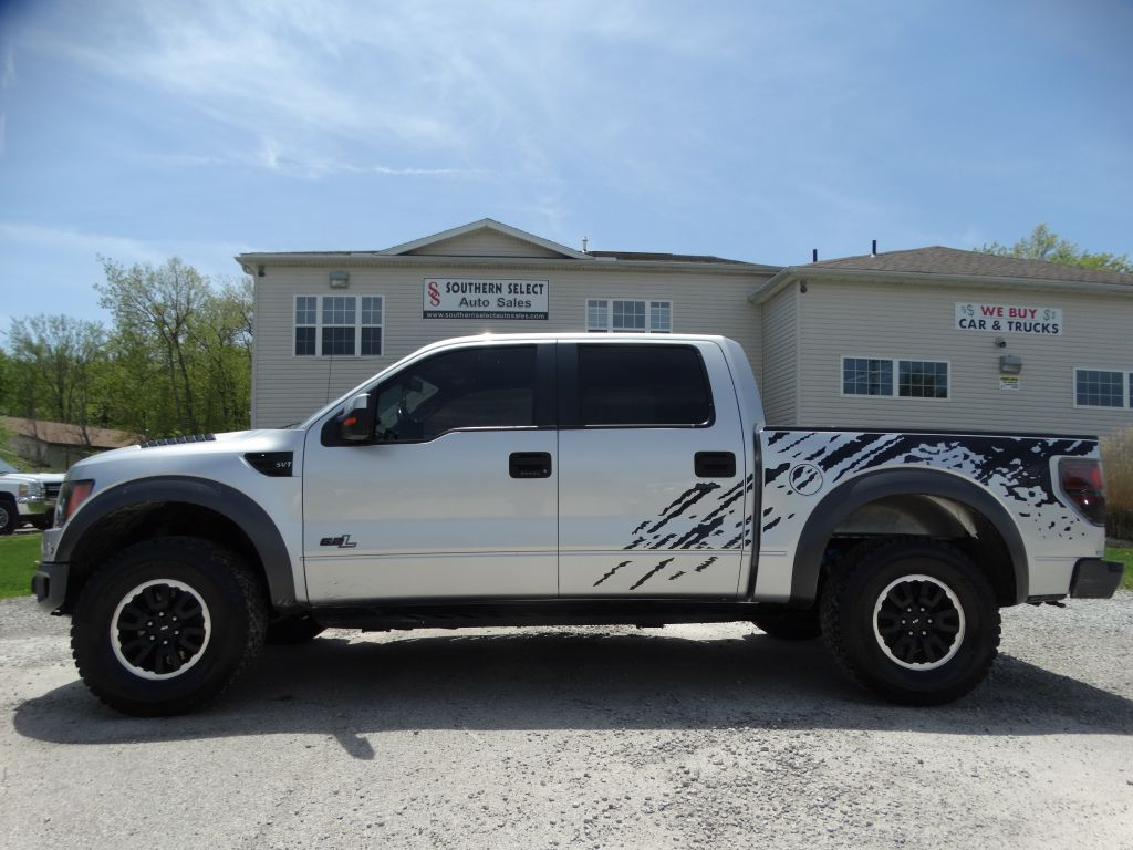 2011 FORD F150 SVT RAPTOR