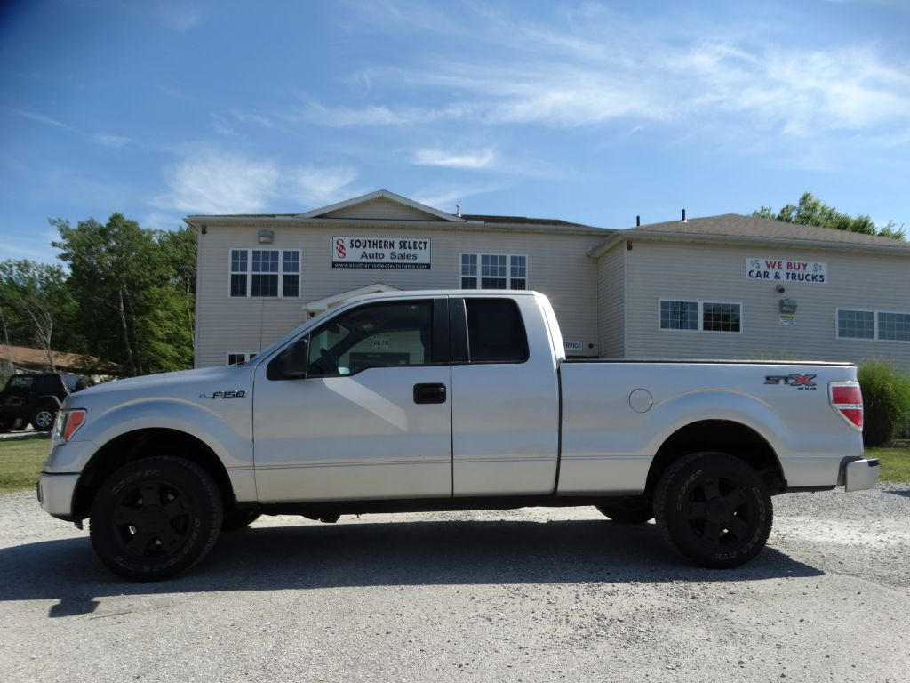 2009 FORD F150 SUPER CAB