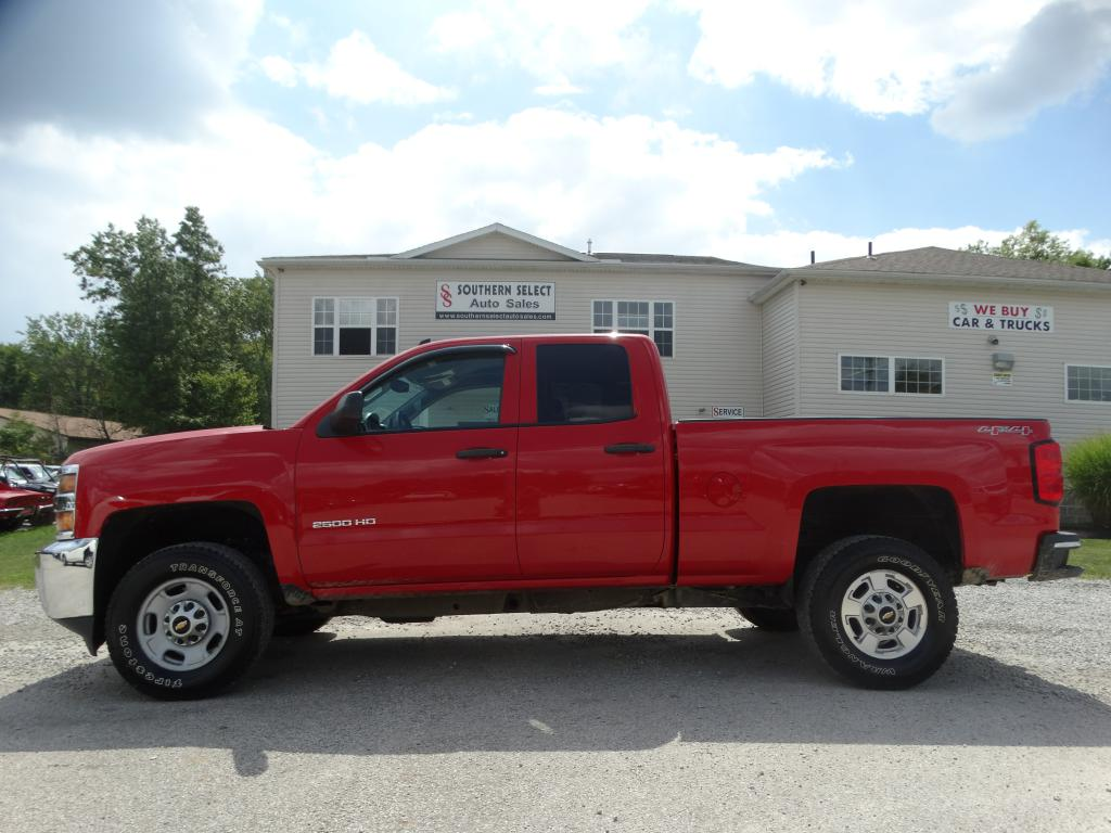 2015 CHEVROLET SILVERADO 2500  HEAVY DUTY LT