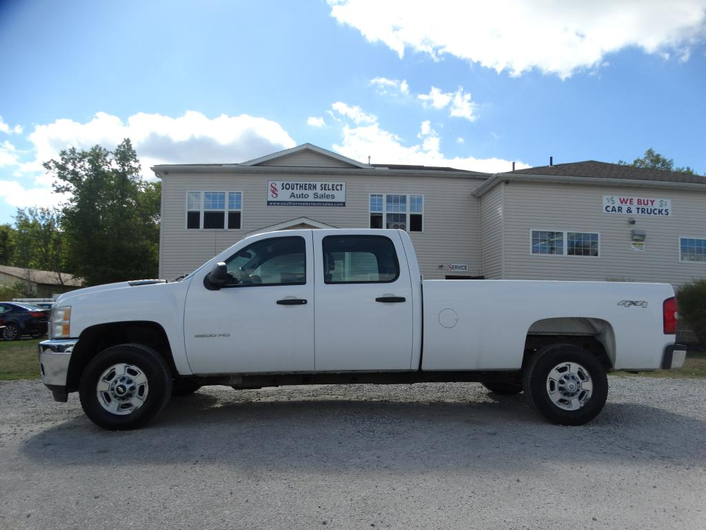 2013 CHEVROLET SILVERADO 2500  HEAVY DUTY