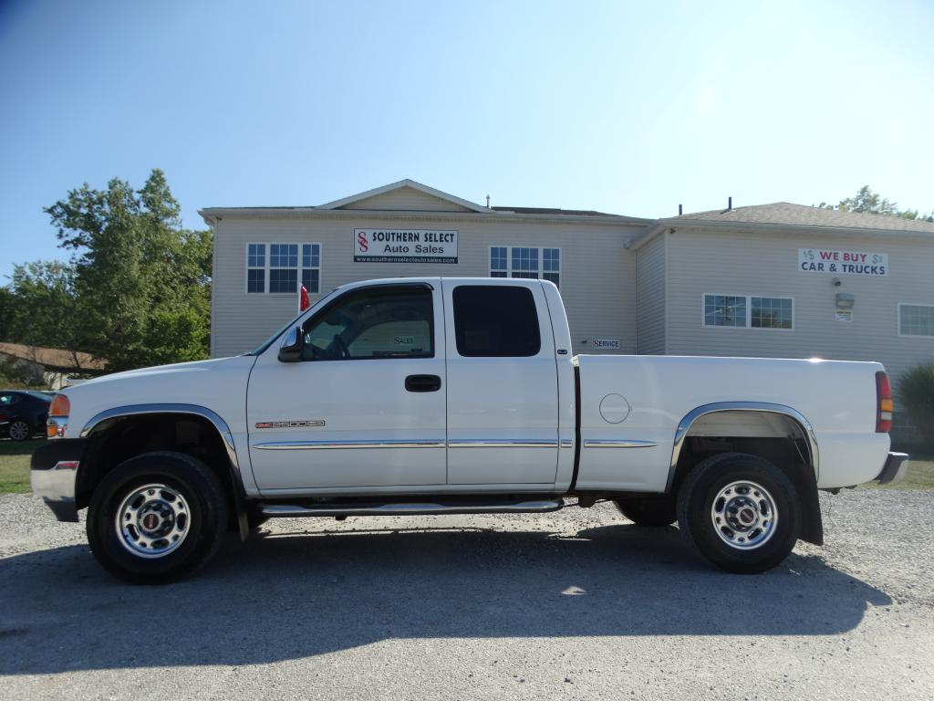 2001 GMC SIERRA 2500 HEAVY DUTY