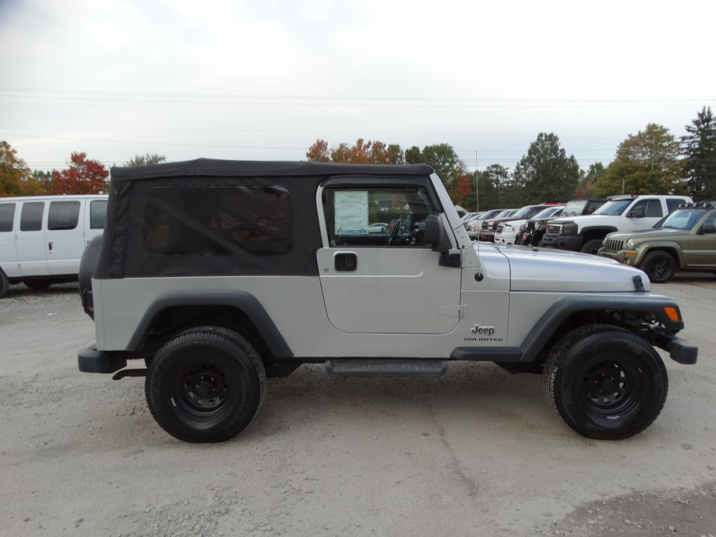 2005 Jeep Wrangler    Tj Unlimited For Sale In Medina  Oh
