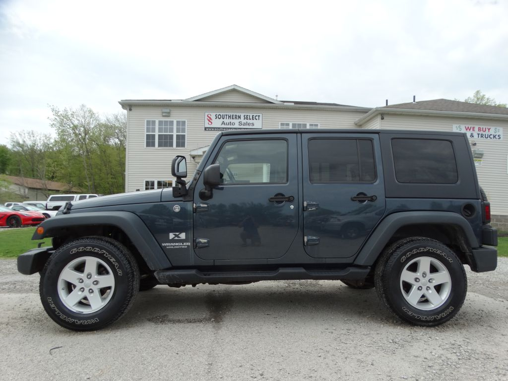2008 JEEP WRANGLER UNLIMI X