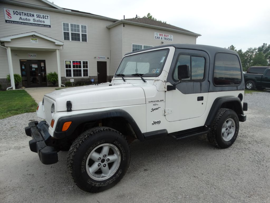 1999 Jeep Wrangler Tj Sport For Sale In Medina Oh Southern Select Auto Sales