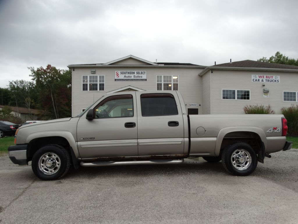 2003 CHEVROLET SILVERADO 1500  HEAVY DUTY