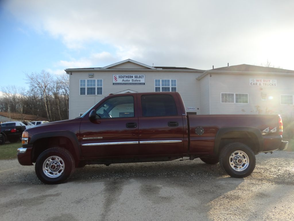 2003 GMC SIERRA 2500 HEAVY DUTY