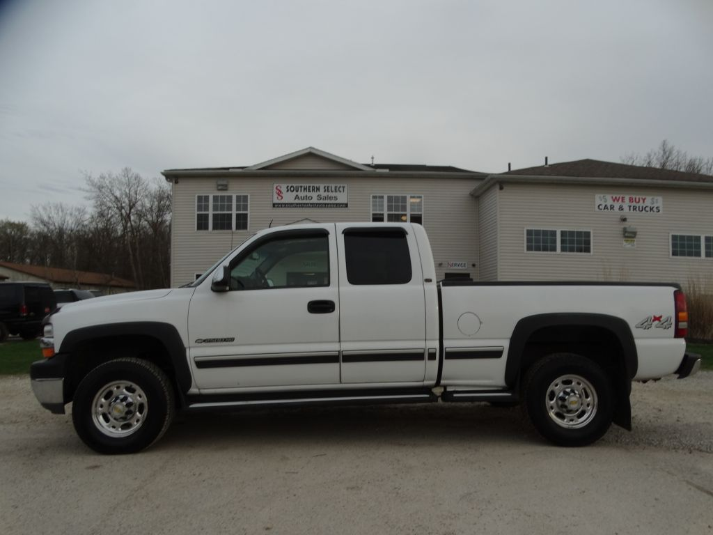 2002 CHEVROLET SILVERADO 2500 HEAVY DUTY