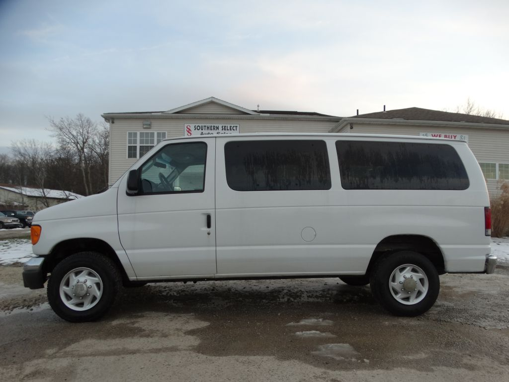 2007 FORD ECONOLINE E350 SUPER DUTY WAGON