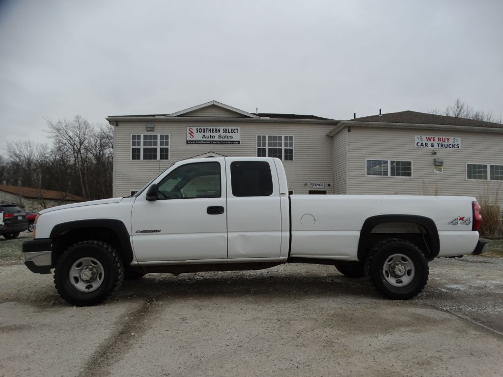 2003 CHEVROLET SILVERADO 2500  HEAVY DUTY