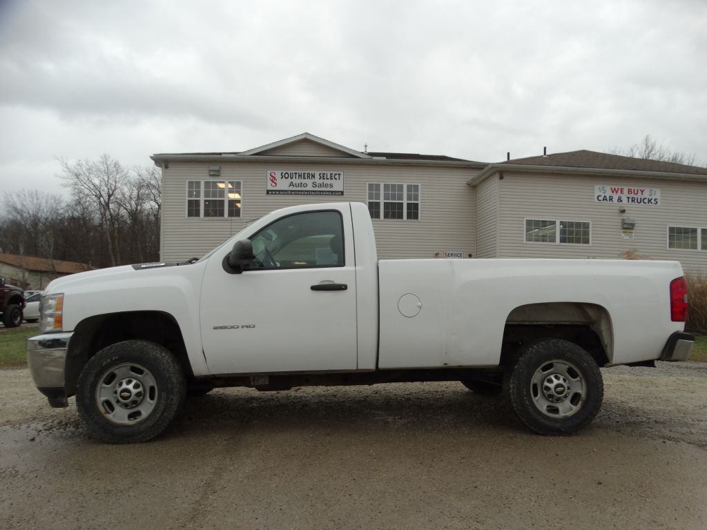 2012 CHEVROLET SILVERADO 2500  HEAVY DUTY