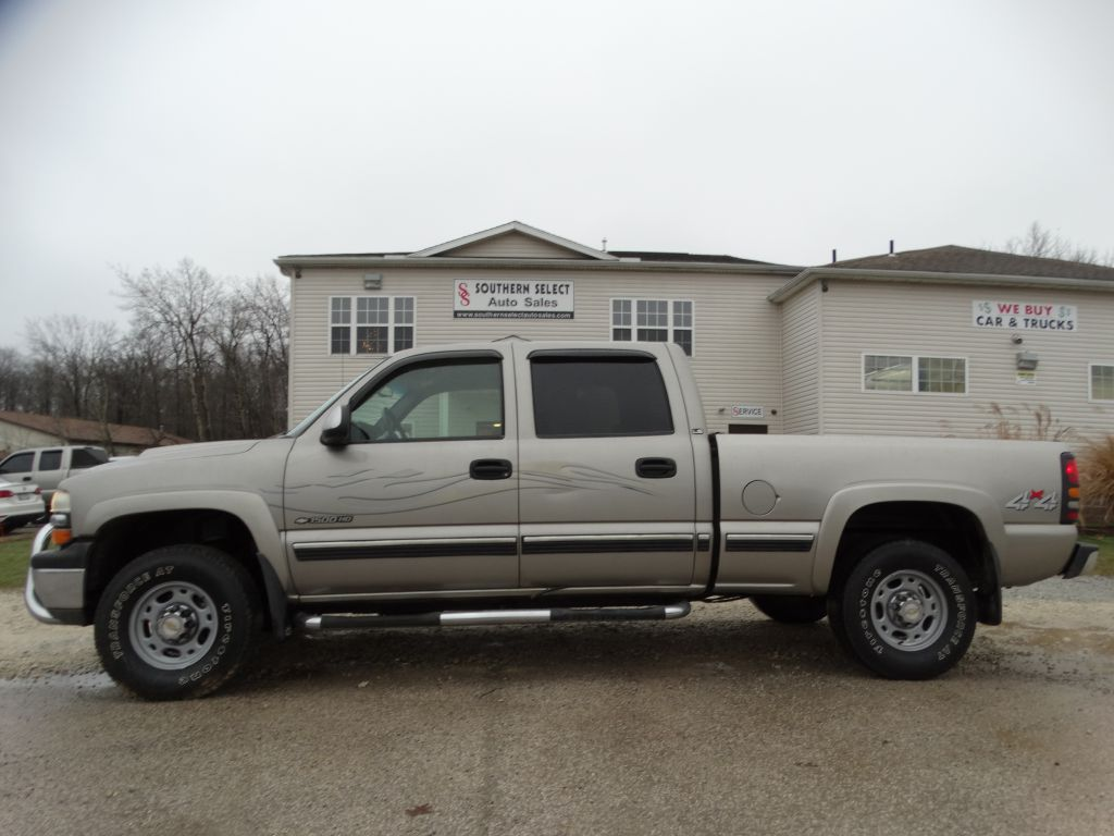 2002 CHEVROLET SILVERADO 1500  HEAVY DUTY