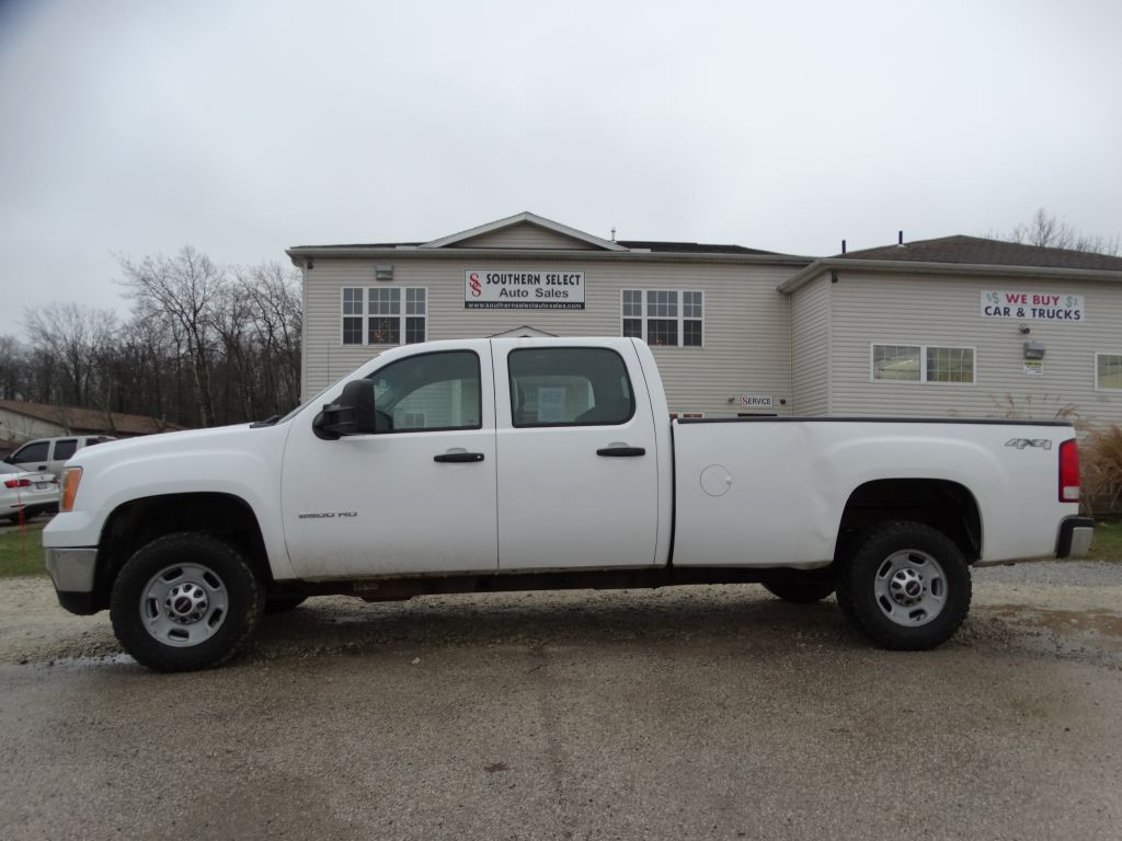 2011 GMC SIERRA 2500 HEAVY DUTY