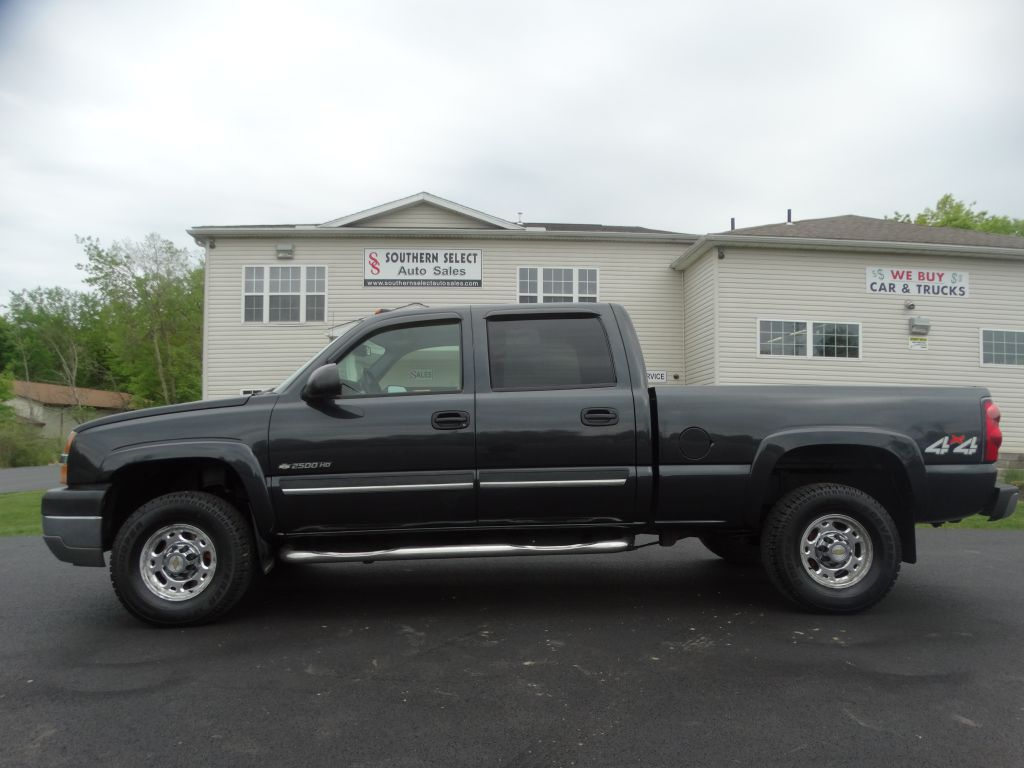 2004 CHEVROLET SILVERADO 2500 HEAVY DUTY