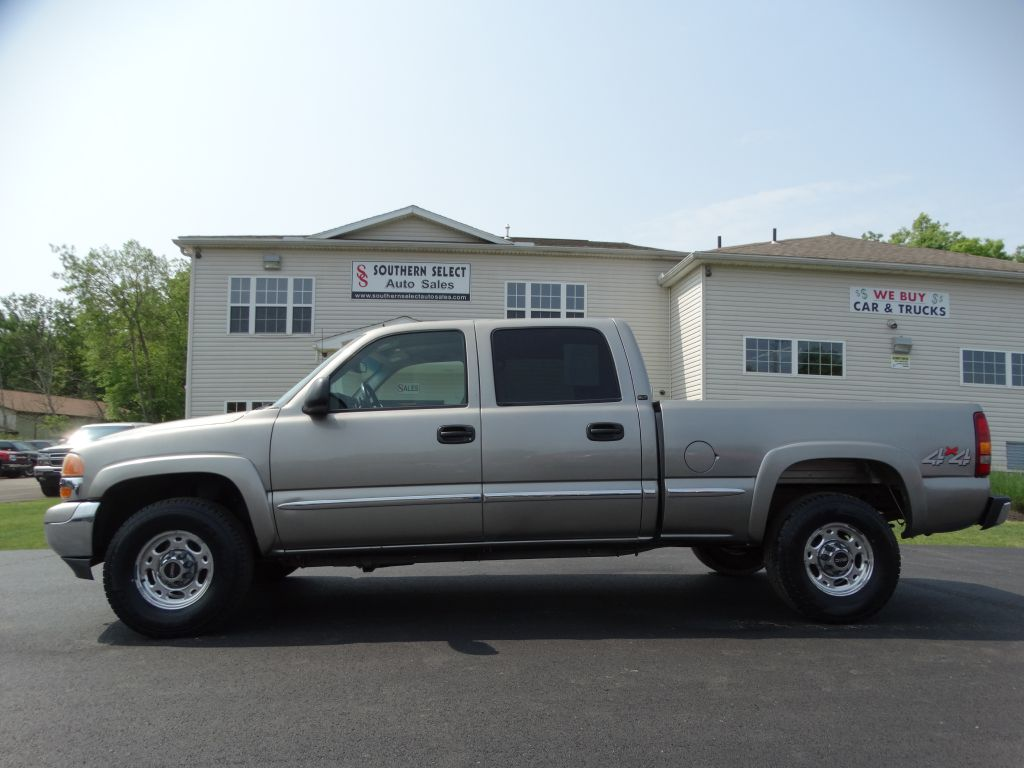 2001 GMC SIERRA 1500 HEAVY DUTY