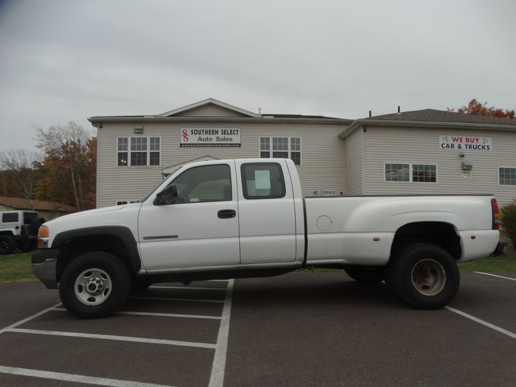 2002 GMC SIERRA 2500 HEAVY DUTY
