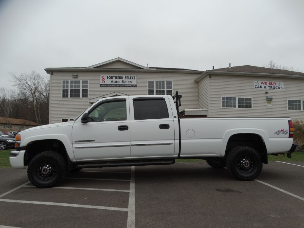 2004 GMC SIERRA 2500 HEAVY DUTY