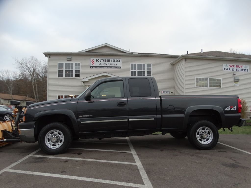 2005 CHEVROLET SILVERADO 2500 HEAVY DUTY