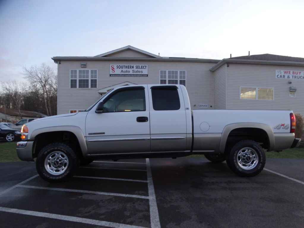 2003 GMC NEW SIERRA 2500