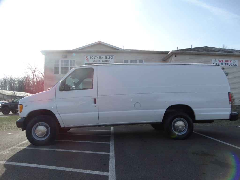2001 FORD ECONOLINE E350 SUPER DUTY VAN