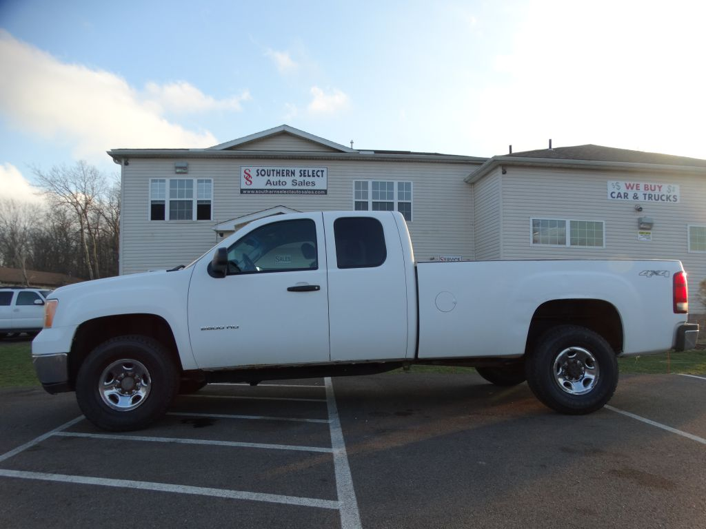 2010 GMC SIERRA 2500 HEAVY DUTY
