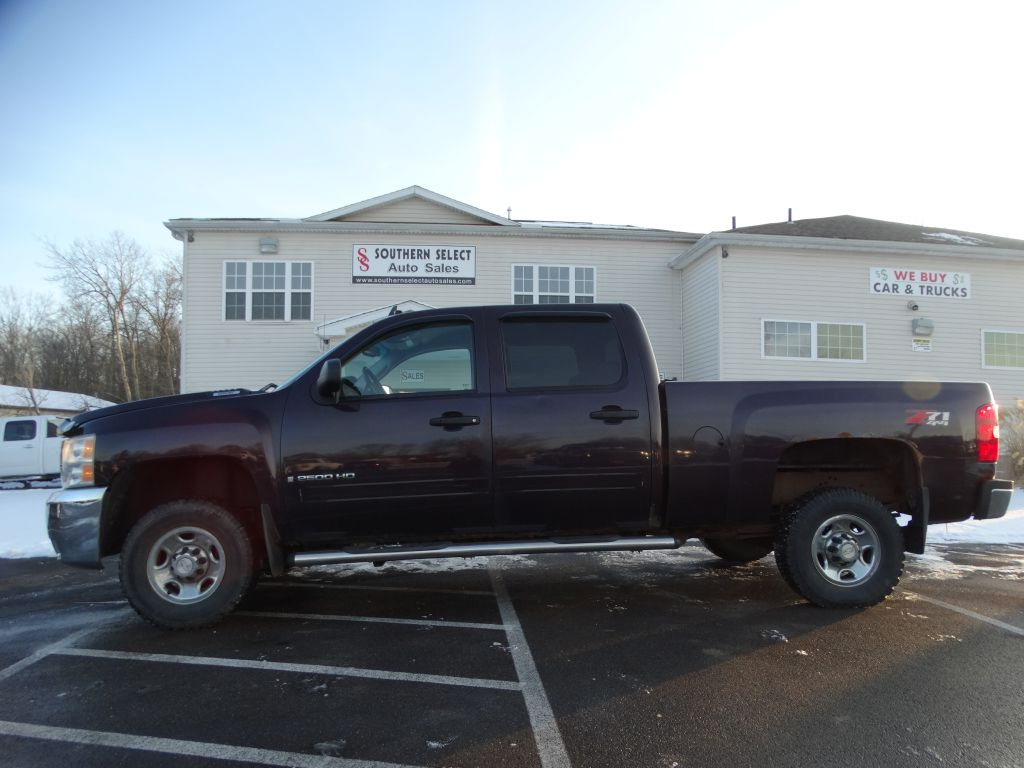 2008 CHEVROLET SILVERADO 2500 HEAVY DUTY