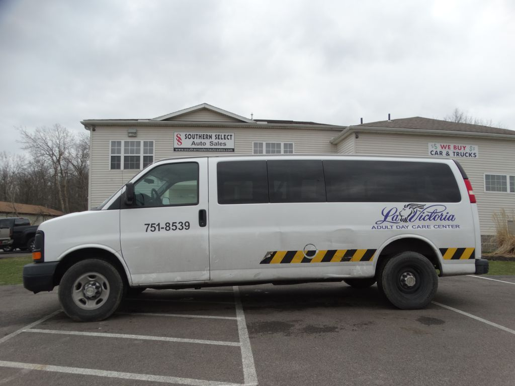 2014 CHEVROLET EXPRESS G3500 LS