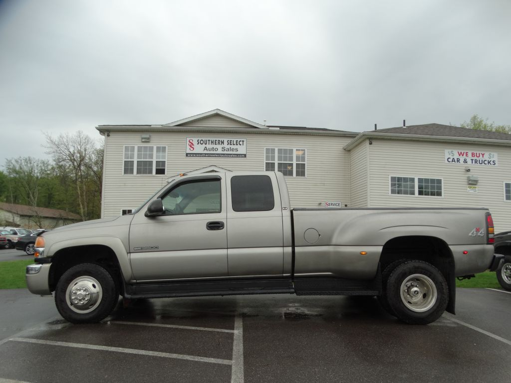2003 GMC NEW SIERRA 3500