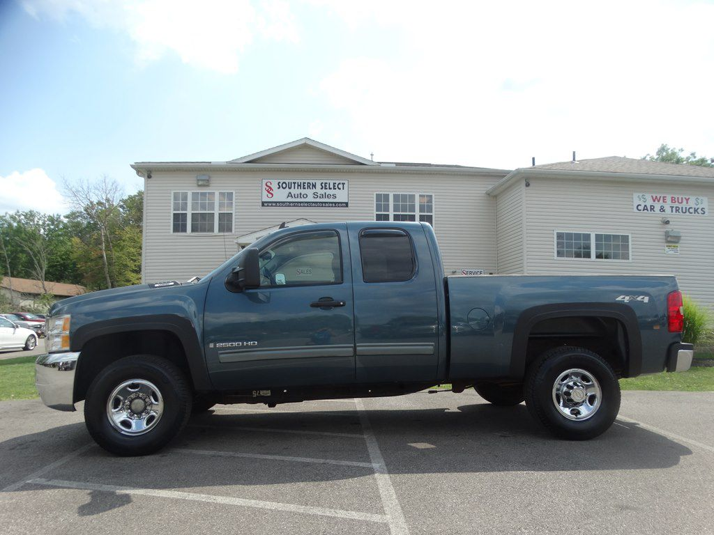 2009 CHEVROLET SILVERADO 2500 HEAVY DUTY LT