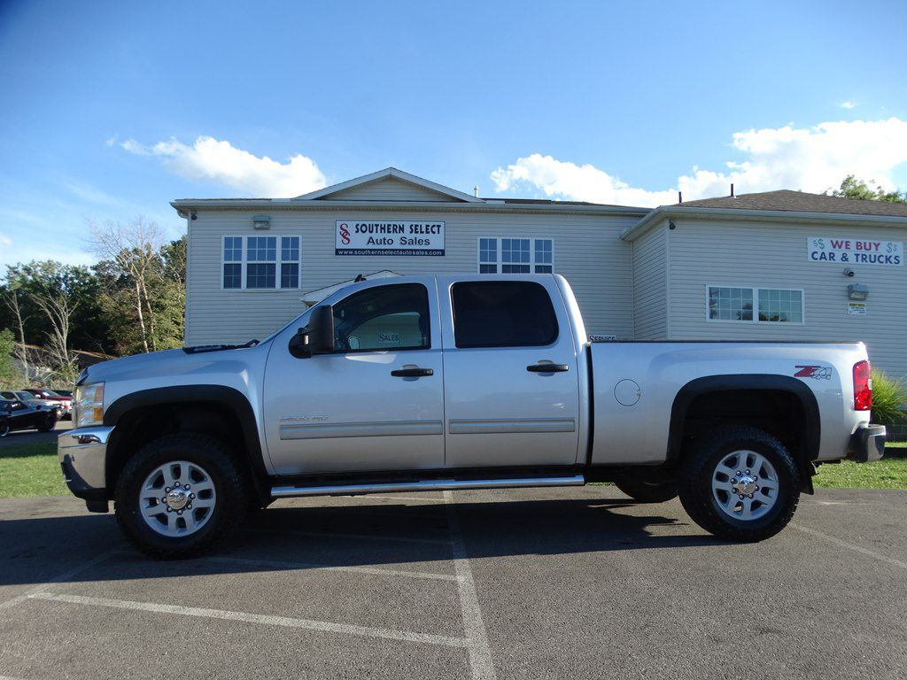 2012 CHEVROLET SILVERADO 2500 HEAVY DUTY LT