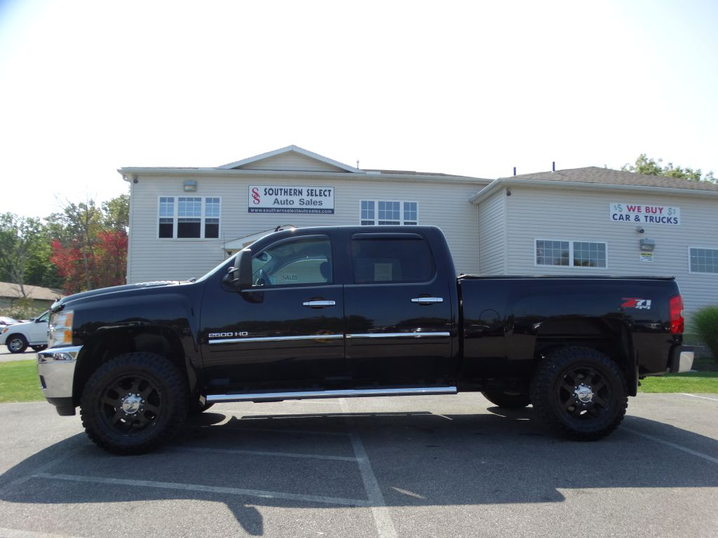 2013 CHEVROLET SILVERADO 2500 HEAVY DUTY LT