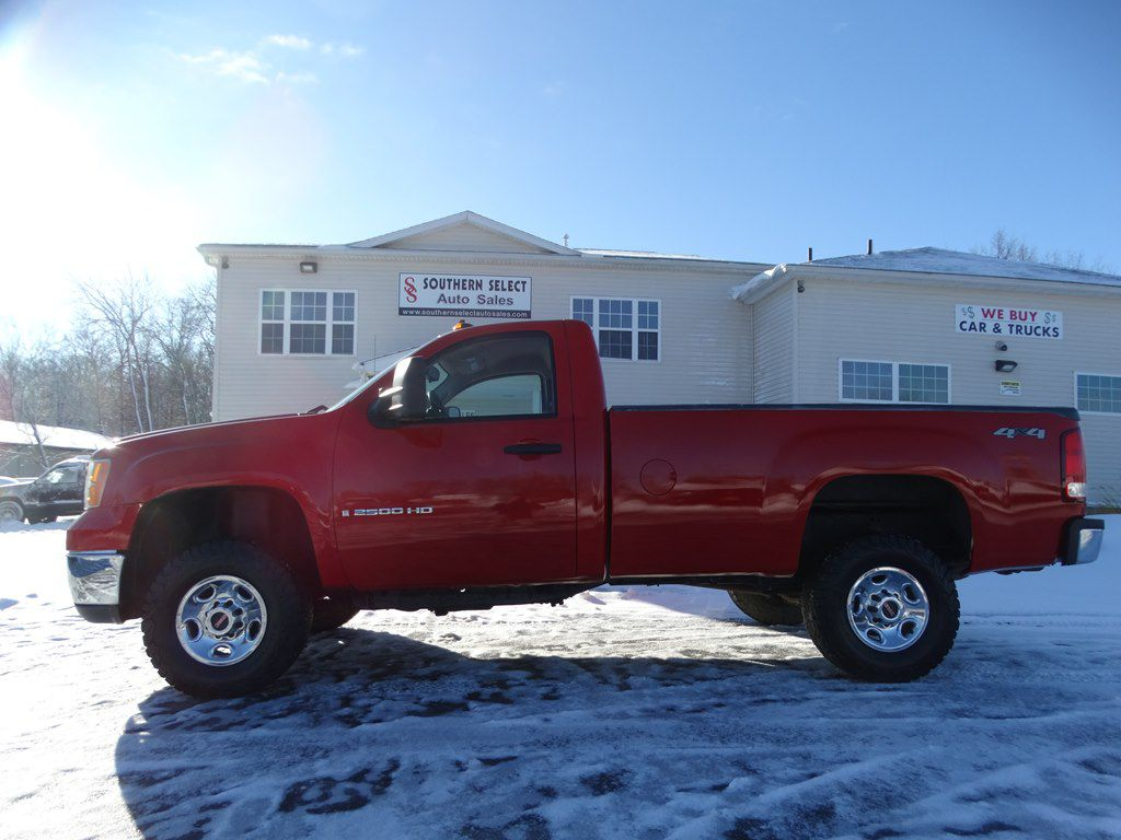2008 GMC SIERRA 2500 HEAVY DUTY