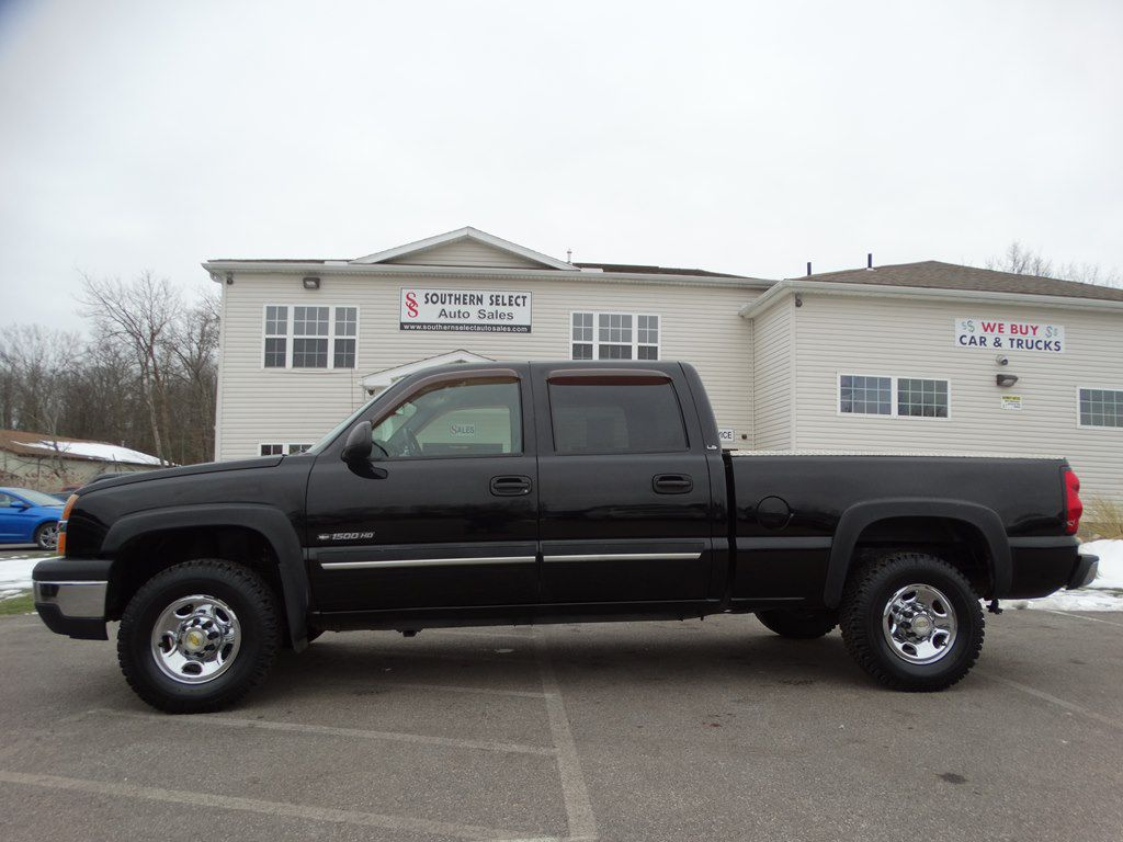 2005 CHEVROLET SILVERADO 1500 HEAVY DUTY