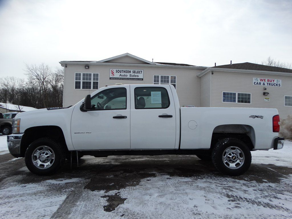 2011 CHEVROLET SILVERADO 2500 HEAVY DUTY