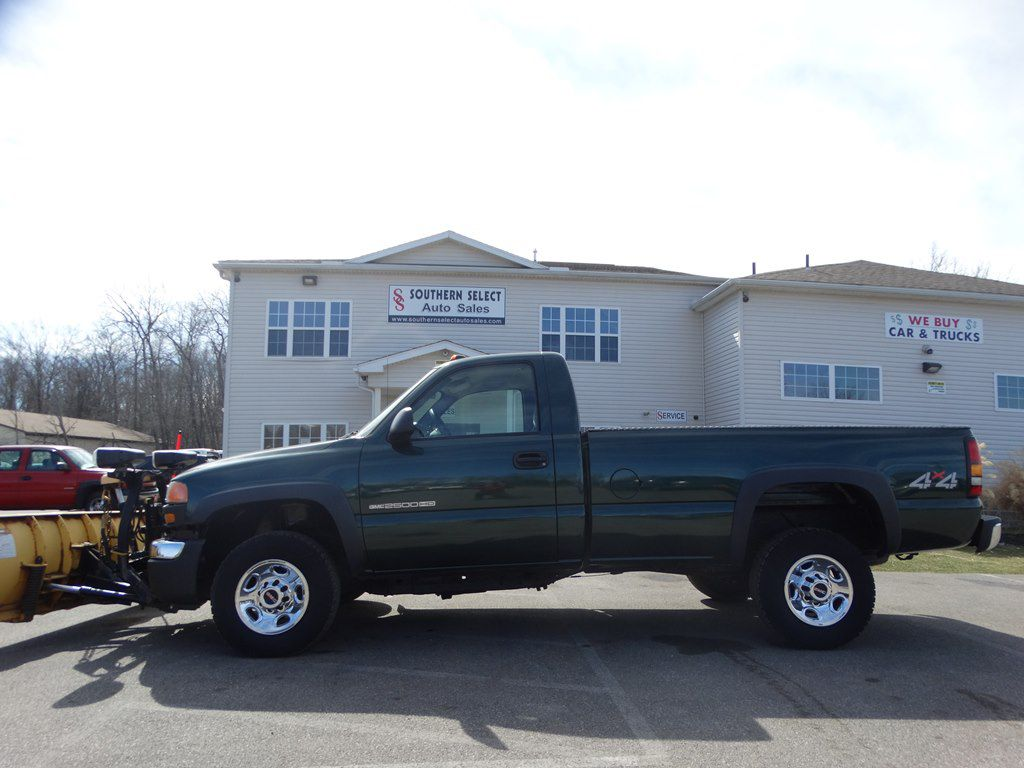 2007 GMC SIERRA 2500 HEAVY DUTY