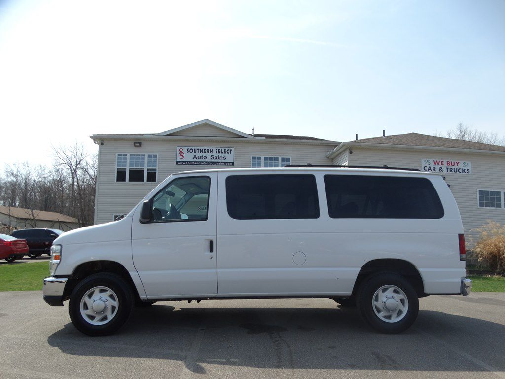 2009 FORD ECONOLINE E350 SUPER DUTY WAGON