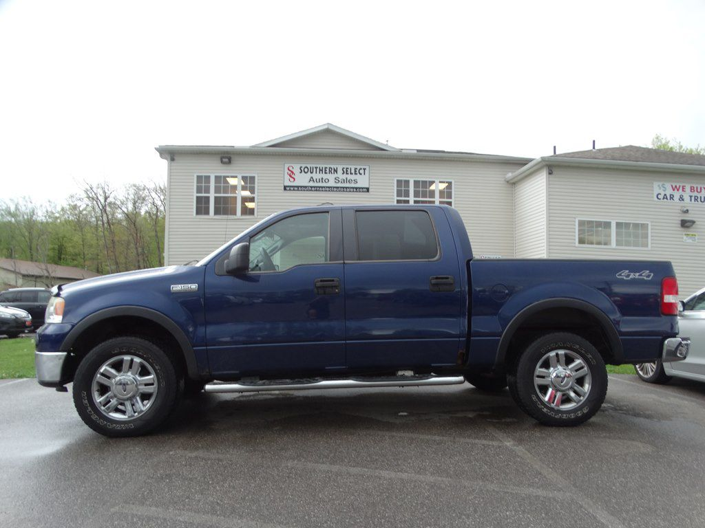 2008 FORD F150 SUPERCREW