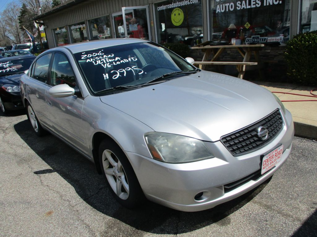 2006 Nissan Altima 3.5 SE Used Cars In North Ridgeville, OH 44039