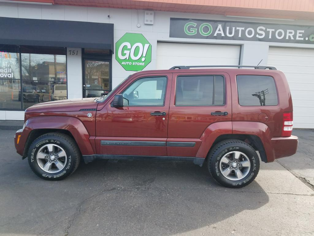 2008 JEEP LIBERTY **NO CREDIT SCORE REQUIRED** for sale at GO! Auto Store