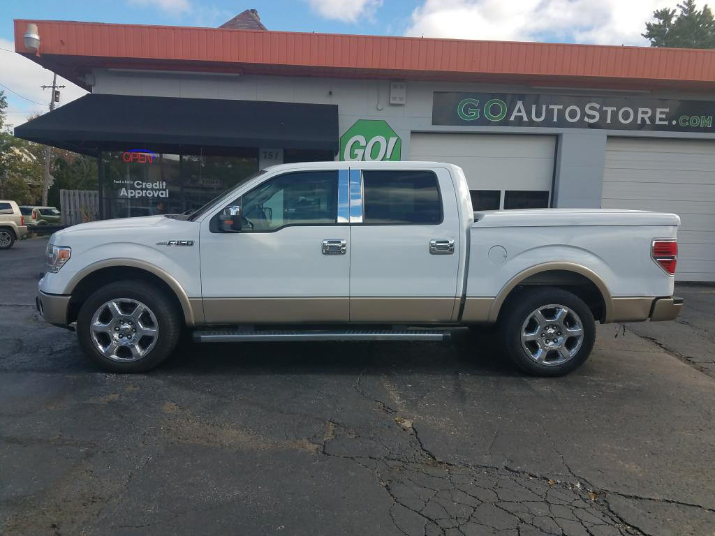 2013 FORD F150 SUPERCREW for sale at GO! Auto Store