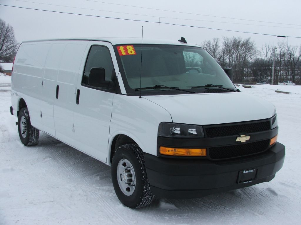 2018 CHEVROLET EXPRESS G2500 Extended