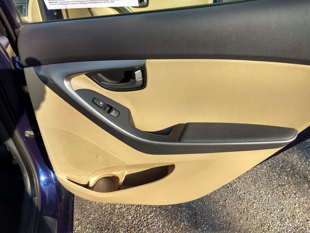 2013 HYUNDAI ELANTRA GLS for sale at Stark Auto Sales