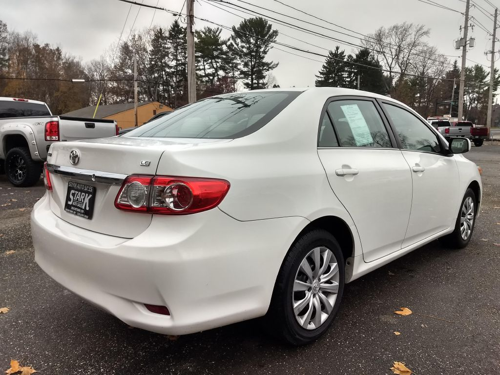 2013 TOYOTA COROLLA BASE for sale at Stark Auto Sales
