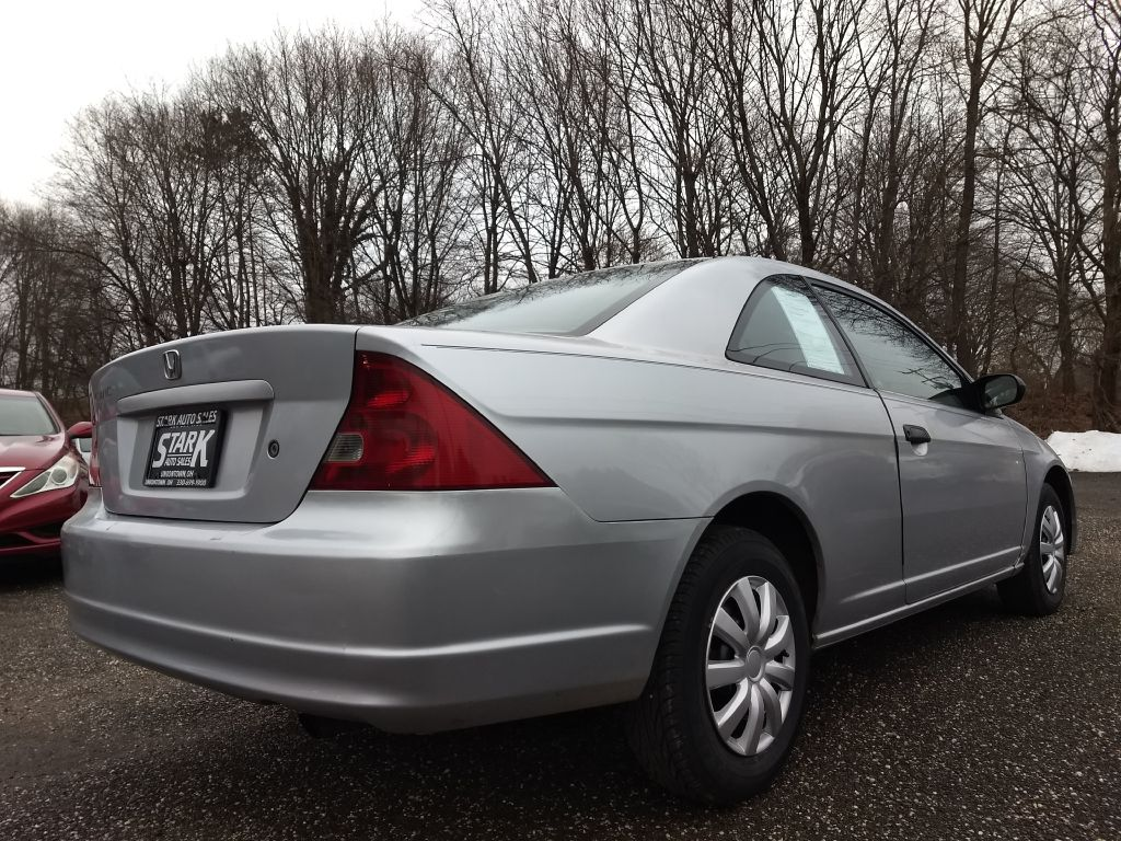 2001 HONDA CIVIC LX for sale at Stark Auto Sales
