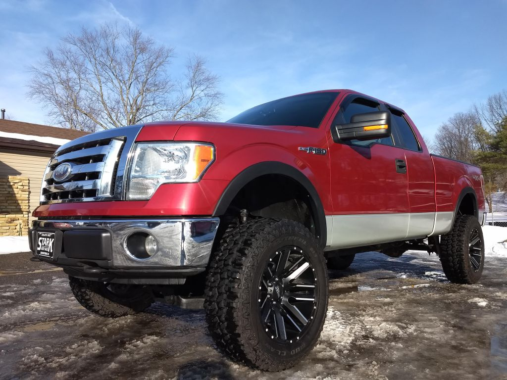 2009 FORD F150 SUPER CAB for sale at Stark Auto Sales