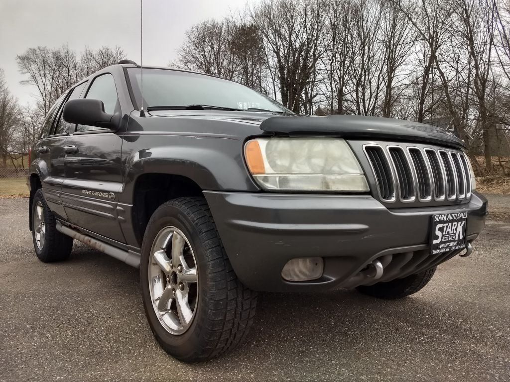 2002 JEEP GRAND CHEROKEE OVERLAND for sale at Stark Auto Sales